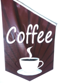 End Sign Flag Kit - COFFEE