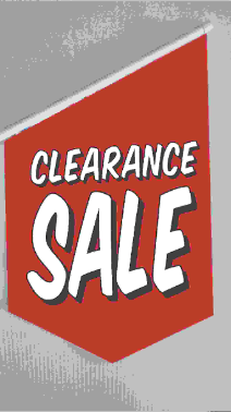 End Sign Flag Kit - CLEARANCE SALE