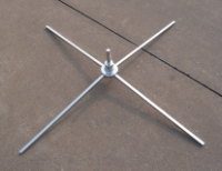 Cross Base Chrome 480mm