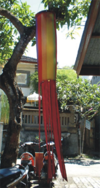 Windsock Twirling Rainbow
