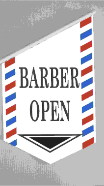 End Sign Flag Kit - BARBER