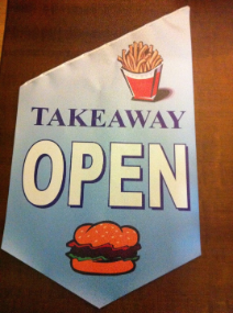 End Sign Flag Kit - TAKEAWAY
