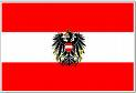 AUSTRIAN Flag 5x3' with crest