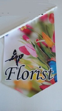 End Sign Flag Kit - FLORIST