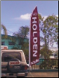 Quantum Swooper flag, 5m. custom printed for Holden Used Cars